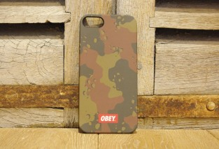 OBEY QUALITY DISSENT COQUE IPHONE CAMO