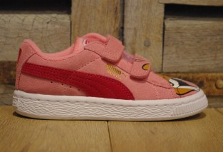 PUMA SUEDE TOM&JERRY ROSE 35765601