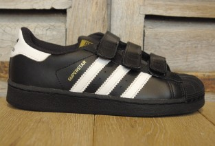 ADIDAS SUPERSTAR FONDATION VELCRO B26071
