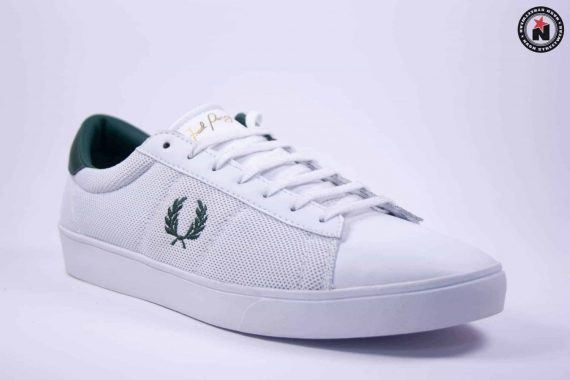 Fred Perry SPENCER MESH/LEATHER