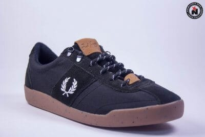 Fred Perry STOCKPORT NYLON/SUEDE